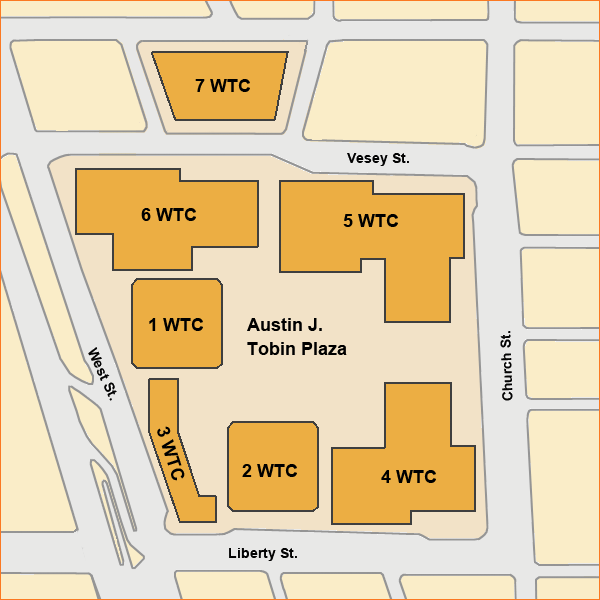 Plano del World Trade Center